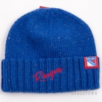 Mitchell & Ness TC Heather Script Knit Beanie NHL New York Rangers
