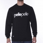 Pelle Pelle Back 2 The Basics Crewneck Black