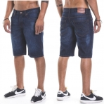 Roca Wear Baggy Short Fit Mid Blue
