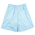 K1X Pastel Big Hole Mesh Shorts - Skyblue