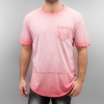 South Pole Surface Dyed Tee Pink