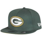 NEW ERA 950 NFL Training Mesh Snapback Green Bay Packers