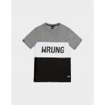 Wrung T-Shirt Russell Black