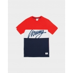 Wrung T-Shirt Flow Red