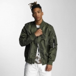 South Pole Spring Bomber Olive