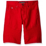 South Pole Denim Short Red