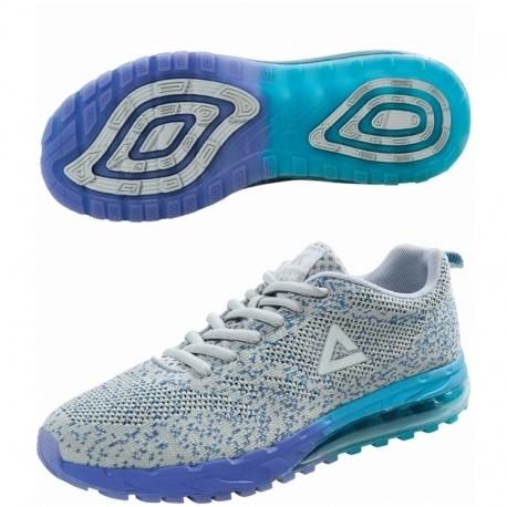 Peak Running Shoes Pop Style E62128H Ice Grey