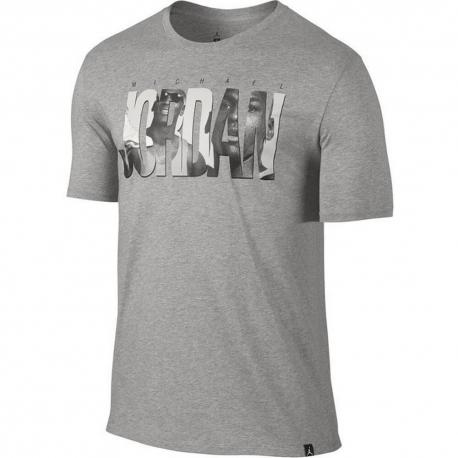 Air Jordan 6 Photo T-Shirt Dark Grey Heather