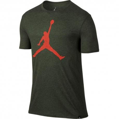 Jordan Iconic Jumpman Logo T-Shirt Sequoia/Gym Red