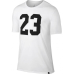 Jordan Iconic 23 Logo T-Shirt White/Black