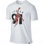 "Air Jordan 6 ""91"" T-Shirt White"