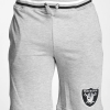 Majestic Wrest Tipped Loopback Short Raiders Grey