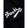 Majestic Tovey Mid Longline Logo Carrier Tee Brooklyn Dodgers Black