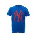 Majestic Precur Logo Carrier Tee New York Yankees Blue