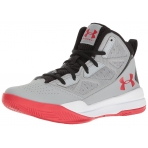 Under Armour Bgs Jet Mid Overcast Gray / White