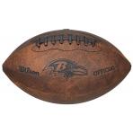 Wilson NFL JR THROWBACK TEAM LOGO FB BA