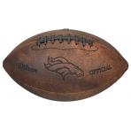 Wilson NFL JR THROWBACK TEAM LOGO FB DN
