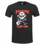 Thrasher Magazine Skate Rock Skull T-Shirt Black