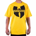 Wu Tang Clan Logo T-Shirt yellow