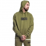 Grimey Overcome Gravity Hoodie Olive