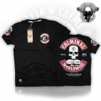 Mafia & Crime Criminal Worldwide Shirt Black