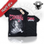 Mafia & Crime Criminal Girls Girly-Shirt Black