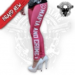 Mafia & Crime Leggings Red