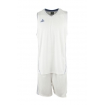 PEAK Men Basketball Uniform White/ Royal (F771103)