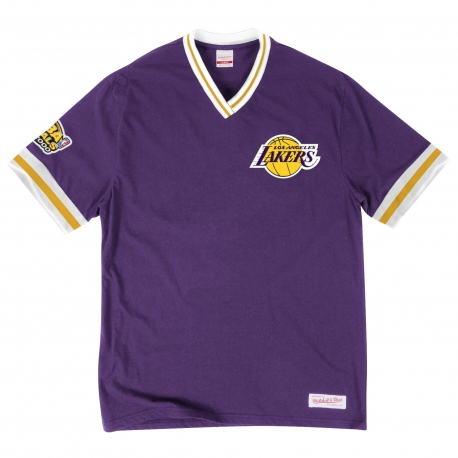 Mitchell & Ness Overtime Win Vintage Tee 2.0 Los Angeles Lakers Purple