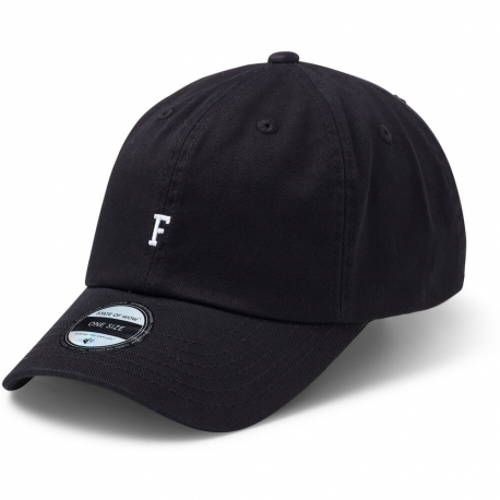State Of Wow Šiltovka Foxtrot Soft Baseball Cap - Black - Snapback