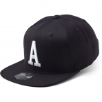 State Of Wow Šiltovka Alpha Soft Baseball Cap - Black/White - Strapback