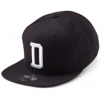 State Of Wow Šiltovka Delta Soft Baseball Cap - Black/White - Strapback
