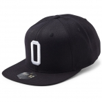 State Of Wow Šiltovka Oscar Soft Baseball Cap - Black/White - Strapback