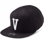 State Of Wow Šiltovka Victor Soft Baseball Cap - Black/White - Strapback