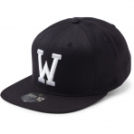 State Of Wow Šiltovka Whiskey Soft Baseball Cap - Black/White - Strapback