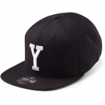 State Of Wow Šiltovka Yankee Soft Baseball Cap - Black/White - Strapback
