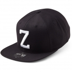 State Of Wow Šiltovka Zulu Soft Baseball Cap - Black/White - Strapback