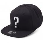 State Of Wow Šiltovka Question Mark Soft Baseball Cap - Black/White - Strapback