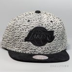 Mitchell & Ness Three 50 Snapback Los Angeles Lakers Turtle