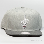 Mitchell & Ness Heather Reflective Snapback Cleveland Cavaliers Grey/Charcoal