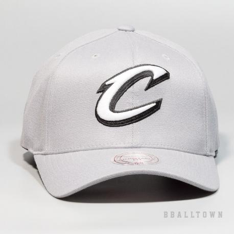 Mitchell & Ness Gull Grey 110 Snapback NBA - Cleveland Cavaliers