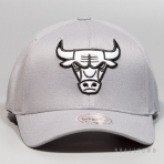 Mitchell & Ness Gull Grey 110 Snapback NBA - Chicago Bulls