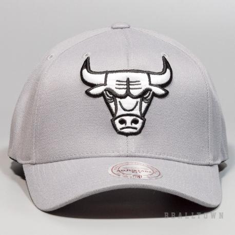 Mitchell & Ness Gull Grey 110 Snapback NBA - Chicago Bulls