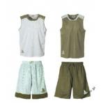 Spalding Essential Reversible Shirt - khaki/grey
