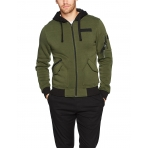 South Pole Fleece Group Zip Hoody Olive