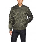 South Pole Ma1 Bomber Jacket Olive