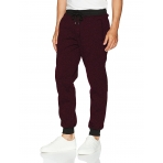 South Pole Fleece Jogger Fleece Pant Marled Burgundy