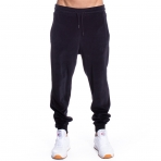 GRIMEY Natural Velour Sweatpant Antracite Black Slim Fit