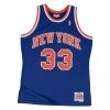 Mitchell & Ness Swingman Jersey - Patrick Ewing Nr. 33 New York Knicks Royal/Orange