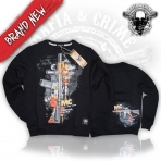 Mafia And Crime Hunting Squad Sweater - Black